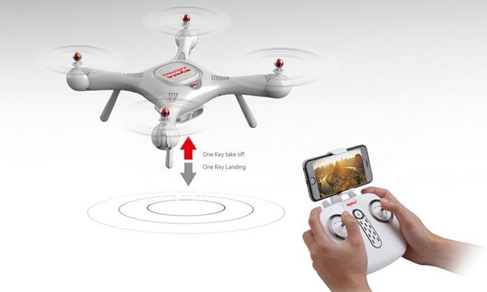 کوادکوپتر دوربین دار سایما X25 pro دارای GPS